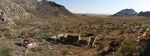 The ruins of vgn Khiid