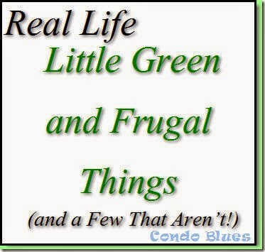 real life green and frugal things that save money