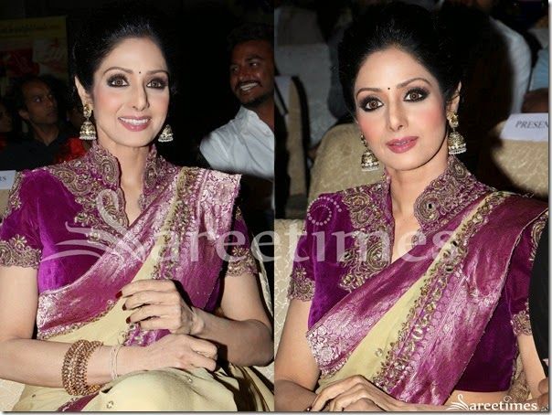 Sridevi_Embellished_Saree_Blouse