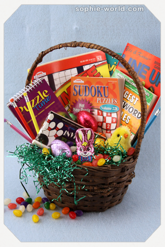 Puzzle basket