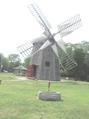 Cape Cod Eastham windmill and horse trougth