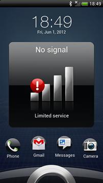 O2 no signal