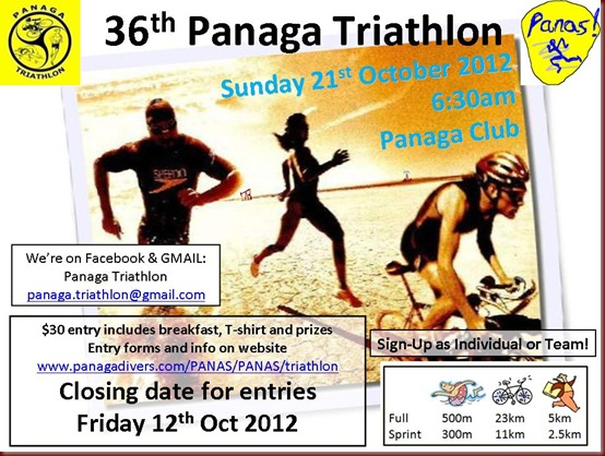 36th Panaga Triathlon