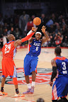 lebron james nba 130217 all star houston 29 game 2013 NBA All Star: LeBron Sets 3 pointer Mark, but West Wins