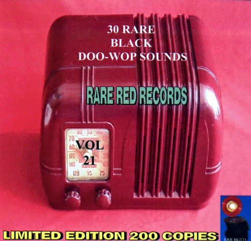 Rare Black Doo-Wop Sounds Vol. 21 - 31 - Front