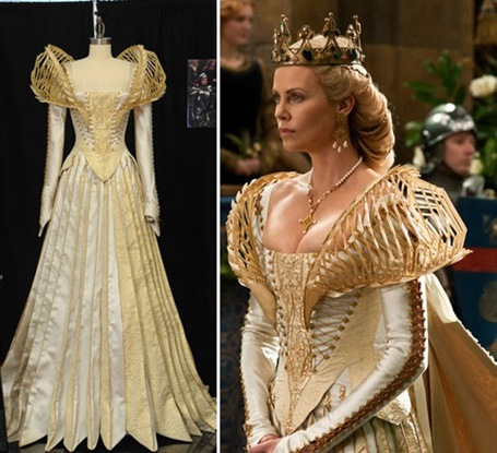 Charlize Theron Costume From Snow White Movie