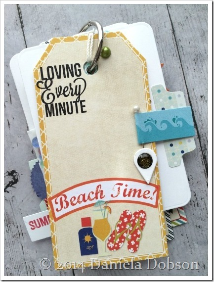 Summer 2014 mini album page 4 by Daniela Dobson