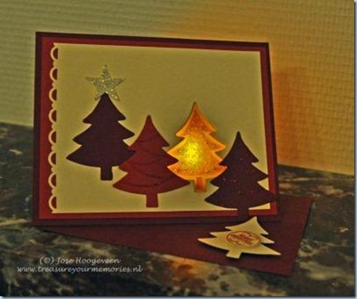 kerstboomkaart Astrid