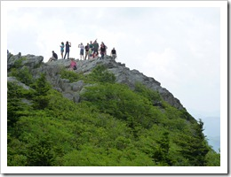 Grandfather Mtn NC -on top