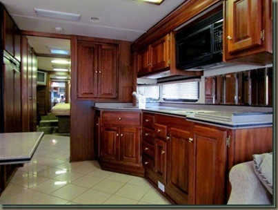monaco Motor home kitchen