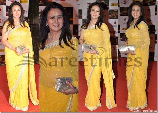 Poonam_Dhillon_Yellow_Saree
