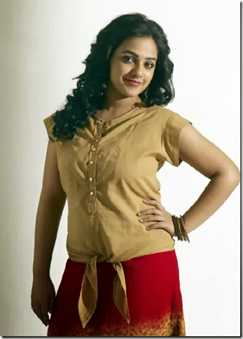 Actress Nithya Menon in Malini 22 Telugu Movie Stills