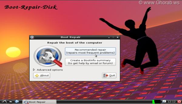 Boot Disk Repair