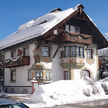 a house in the snow in Seefeld, Tirol, Austria