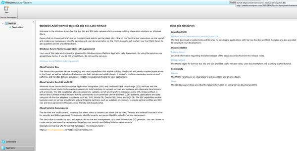 Azure Portal Labs EAI