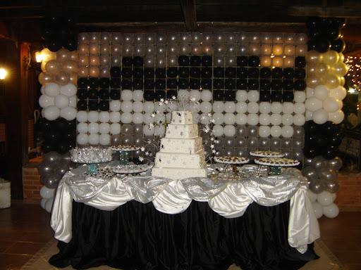 brancoprata decoracao:Decoracao De Casamento Preto E Branco