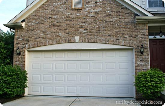 updating plain garage door