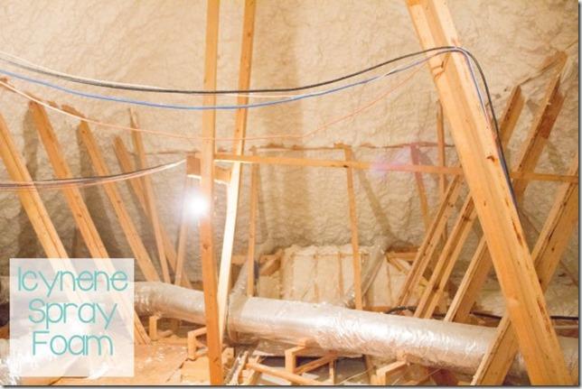 Icynene Foam Insulation