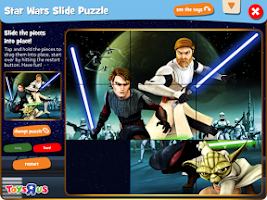 Screenshot of Geoffrey's Jungle: Star Wars