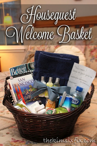Make Your Guests Feel At Home With A Gift Basket The Kim