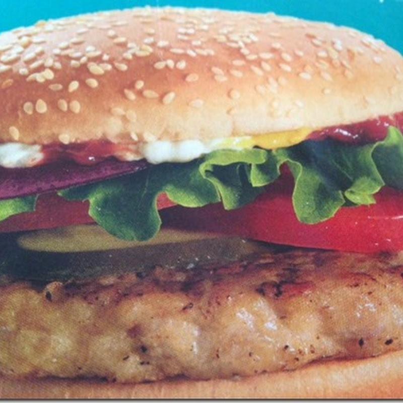 Burger Đậu Trắng (Black Eyed Bean Burger) - Kim