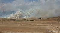 Buschfeuer bei Canberra