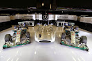 Mercedes Silver Arrows F1 cars