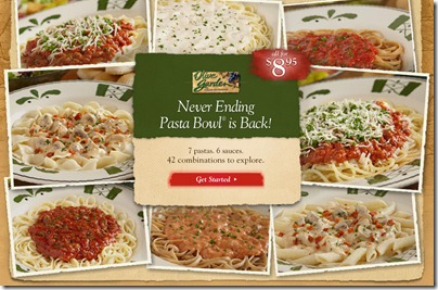 Steals Deals And Life Olive Garden Promotions And Specials