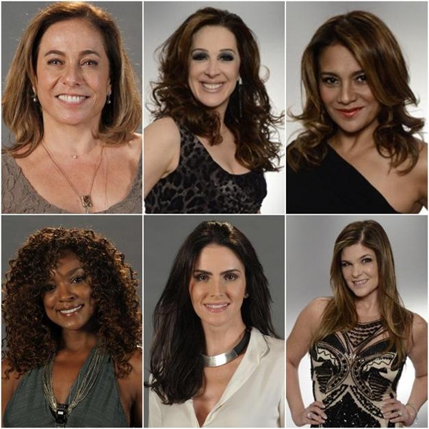 cabelos das atrizes da novela salve jorge