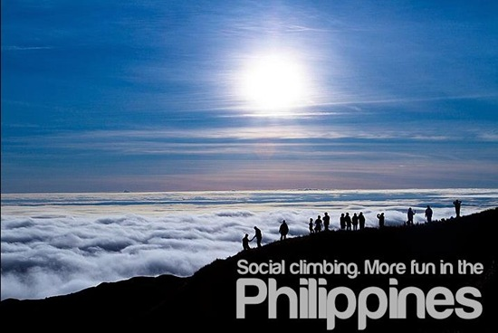 Social Climbing - more fun in the Philippines