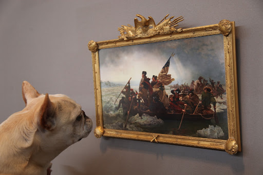 Well, this painting is definitely not that large!  But did I hear you say Eli Wilner's name?  Isn't he the leading purveyor of antique frames and reproductions?