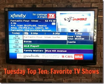 Many Waters Top Ten TV shows