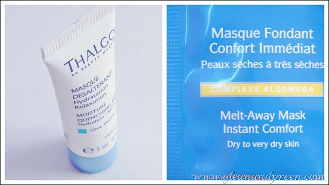 Thalgo Face Masks