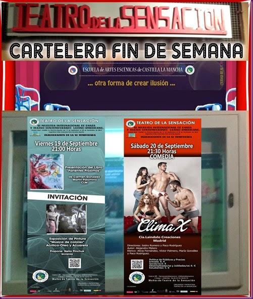 CARTELERA NUEVA CLIMAX Y NELIA Y CARMEN