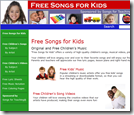 Free Songs for Kids - Songs for the Classroom