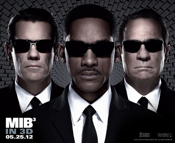 Men in Black 3 Movie MIB3 Movie Poster 2012