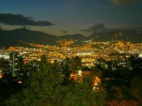 Medellín desde el Pueblito Paisa