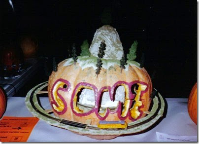 1997 SOME Pumpkin Carving Contest Entry