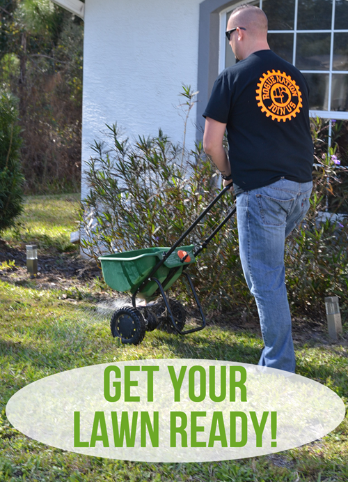 Get the Lawn Ready with Scotts Turf Builder - Bonus S