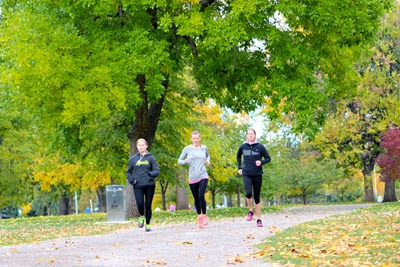 Oiselle Team in City Park, Denver