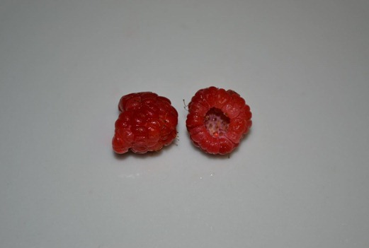 December raspberries - picked 02.12.2012