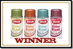 glitter blast spray paint