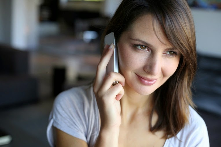 attractive-woman-talking-on-phone