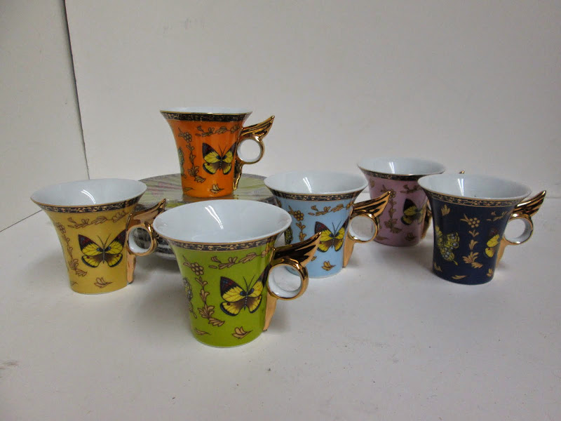 Classic Coffee Tea Demitasse Set