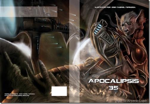 Apocalipsis 35, Autor: JOSE GABRIEL visitenlo en http://artofjosegabriel.jimdo.com/