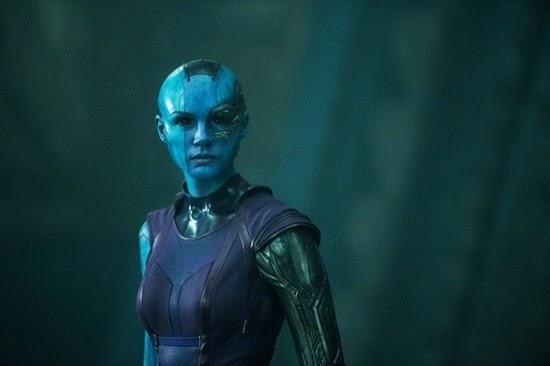 Karen Gillan is Nebula