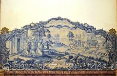 Glória Ishizaka - Mosteiro de Alcobaça - 2012 - Sala dos Reis - azulejo 6