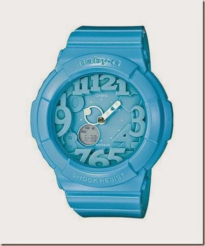Casio Baby-G BGA-131-7B Neon Illuminator 130 Series blue