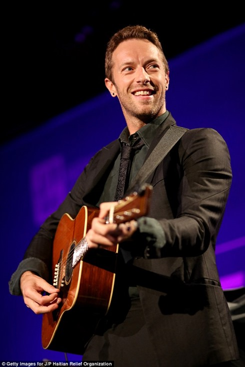 Help Haiti Home Gala Chris Martin
