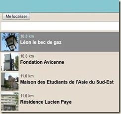 geolocalisation balades de Paris